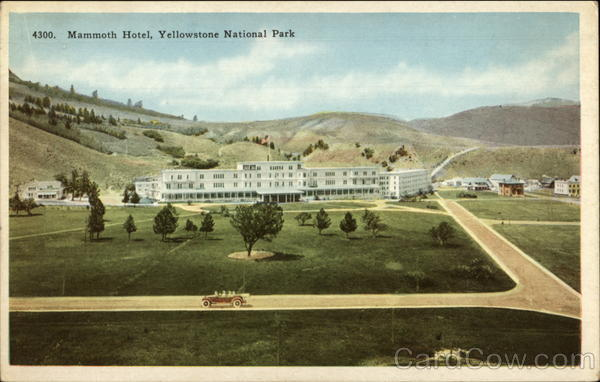 Mammoth hotel yellowstone national park mt for Hotels yellowstone national park