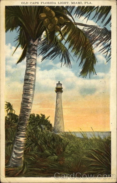 Old Cape Florida Light Miami