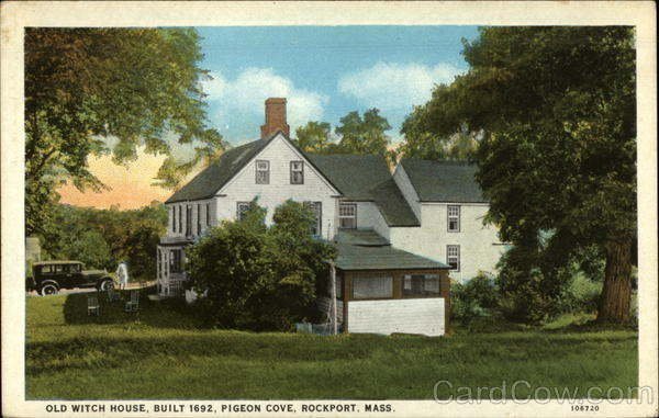 Old Witch House Rockport Massachusetts