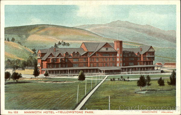 Mammoth hotel yellowstone national park wy for Hotels yellowstone national park