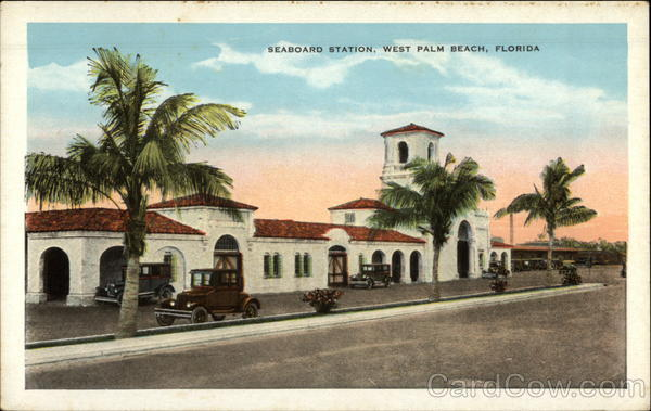 Seaboard Station West Palm Beach Florida