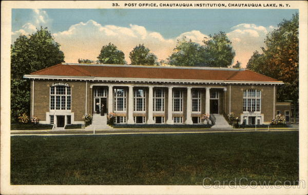 Post Office, Chautauqua Institution Chautauqua Lake New York