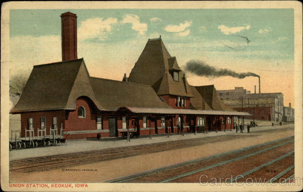 Union Station Keokuk Iowa