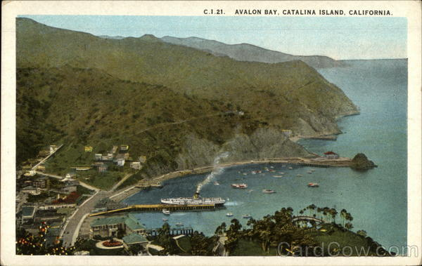 Avalon Bay Santa Catalina Island California