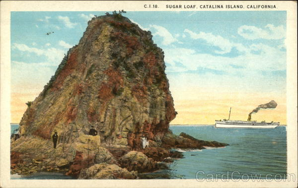 Sugar Loaf Santa Catalina Island California