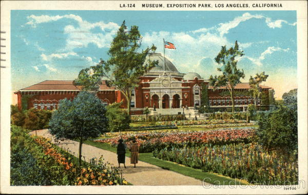 Museum, Exposition Park Los Angeles California