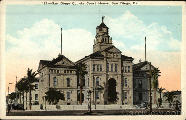 San Diego County Court House California