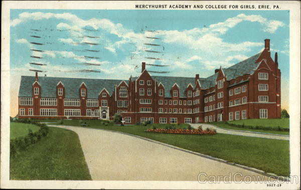 Mercyhurst Academy and College for Girls, Erie, PA Pennsylvania