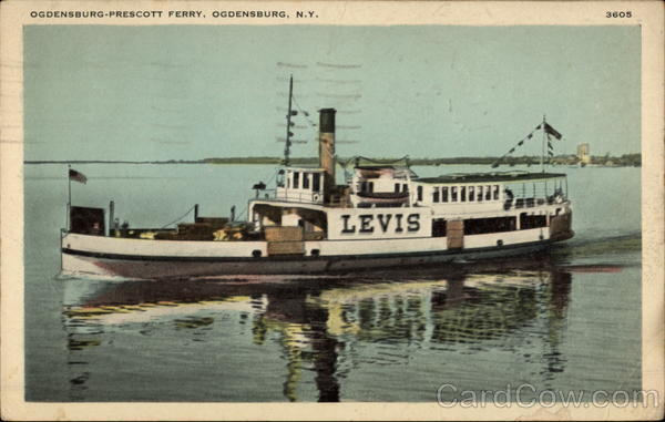 Ogdensburg-Prescott Ferry New York Ferries