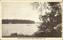 North shore, Sylvan Lake