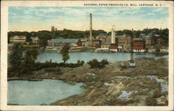 National Paper Products Co. Mill Carthage, NY
