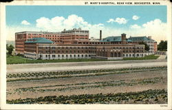 St. Mary's Hospital, Rear View