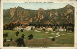 Rocky Mountain National Park; The Stanley Hotels