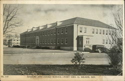 Bakers and Cooks School - Fort Geo. G. Meade, MD