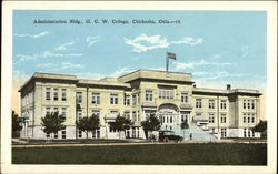 Administration Bldg., O. C. W. College Postcard