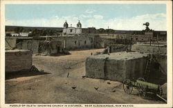 Church at pueblo near Albuquerque