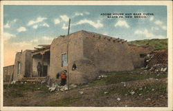Adobe House and Bake Ovens