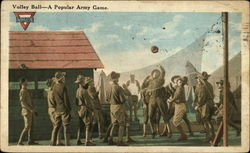 Volley Ball--A Popular Army Game