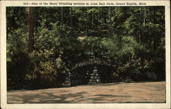 One of the Many Drinking Grottos in John Ball Park