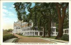 The Griswold Hotel from Boulevard, Eastern Point
