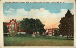 Marshall College-General view of grounds and buildings