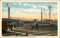 East and West Mills, American Steel & Wire Co