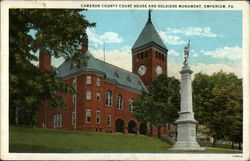 Cameron County Court House and Soldiers Monument