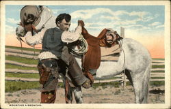 Mounting A Broncho