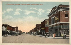 Chickasha Avenue, Looking East