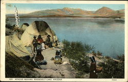 Apache Indians at Roosevelt Lake