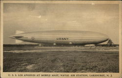 U.S.S. Los Angeles at Mobile Mast Naval Air Station