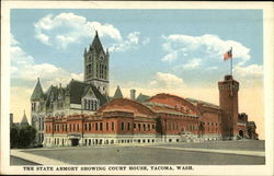 The State Armory Showing Court House