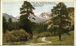 Mt. Ypsilon from Entrance to Y.M.C.A. Grounds