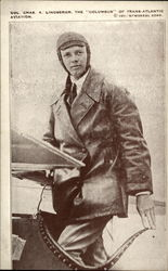"Charles A. Lindbergh, The ""Columbus"" of Trans Atlantic Aviation"