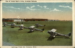 One of Uncle Sam's Army Aviation Schools, Selfridge Field