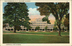 Main barracks. N.Y. Military Academy