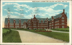 Mercyhurst Academy and College for Girls, Erie, PA