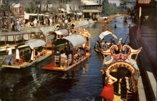 The Floating Gardens Xochimilco Mexico