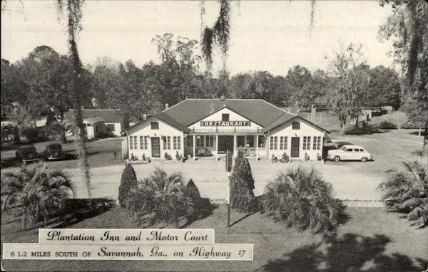 Plantation inn and motor court savannah ga for M m motors savannah ga