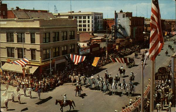 Frontier Days Parade Cheyenne Wyoming