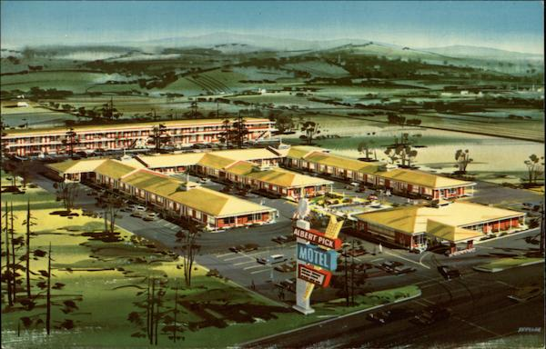 Albert Pick Motel Chattanooga Tennessee