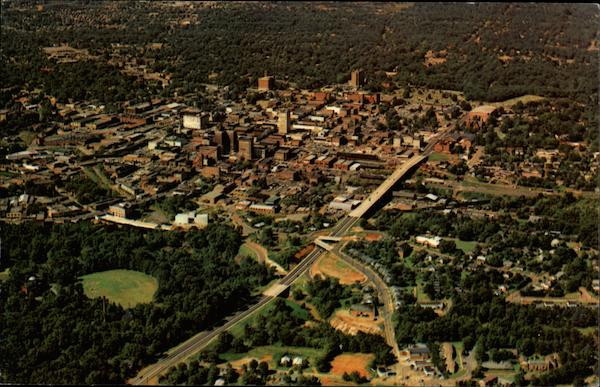 Aerial View of Greenville South Carolina