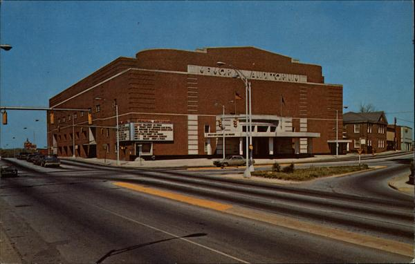 Greenville Memorial Auditorium South Carolina