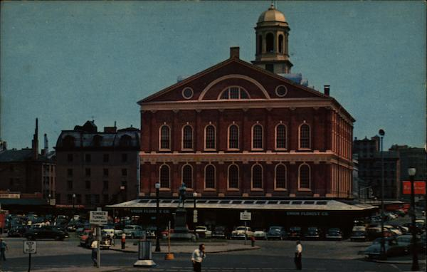 Faneuil Hall Boston Massachusetts
