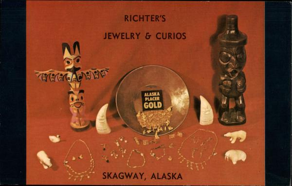 Richter's Jewelry & Curios Skagway Alaska Advertising