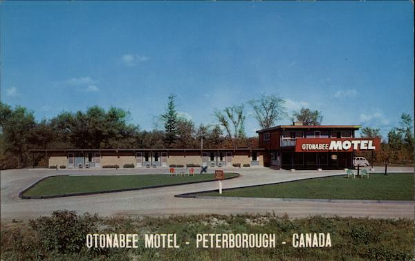 Otonabee Motel Peterborough Canada Ontario