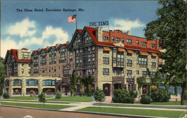 Elms Hotel and Spa - Excelsior Springs Hotels, Missouri