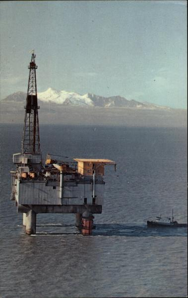 Alaskan Oil Well Cook Inlet