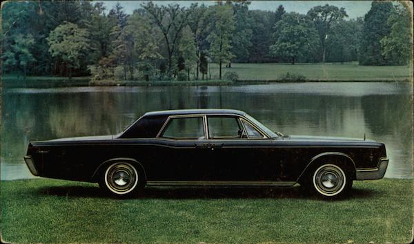 1966 Lincoln Continental 4-Door Sedan Cars