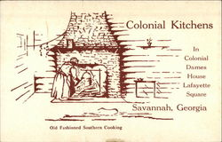 Colonial Kitchens In Colonial Dames House, Lafayette Square